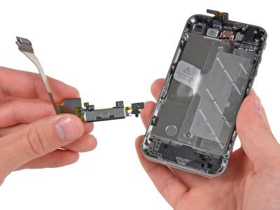 Как заменить микрофон на iPhone 5/5C