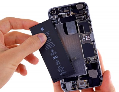 Замена батарейки для iPhone 5S